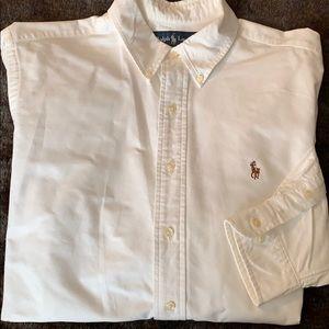 Ralph Lauren classic fit oxford shirt sz 16.5
